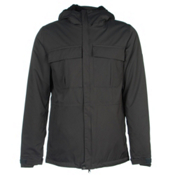 686 Authentic Moniker Mens Insulated Snowboard Jacket, Gunmetal Herringbone, medium