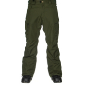 686 Authentic Smarty Cargo Mens Snowboard Pants, Forest, medium