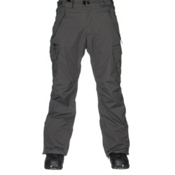 686 Authentic Smarty Cargo Mens Snowboard Pants, Gunmetal Pincord, medium