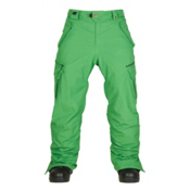 686 Authentic Smarty Cargo Mens Snowboard Pants, Green, medium