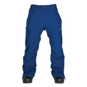 686 Authentic Smarty Cargo Mens Snowboard Pants, Indigo, medium