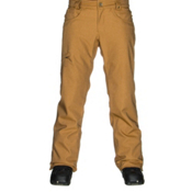 686 Authentic Raw Insulated Mens Snowboard Pants, Duck Twill Denim, medium