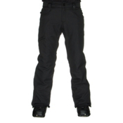 686 Authentic Raw Insulated Mens Snowboard Pants, Black, medium