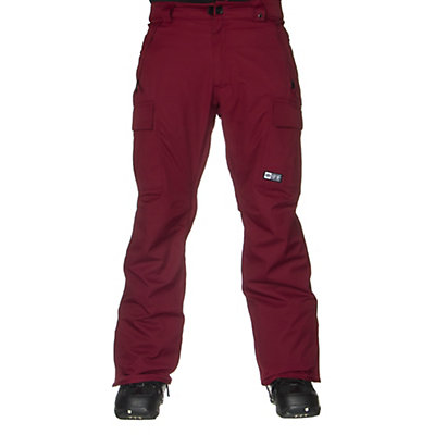 686 Authentic Infinity Insulated Mens Snowboard Pants, Coffee Herringbone, viewer
