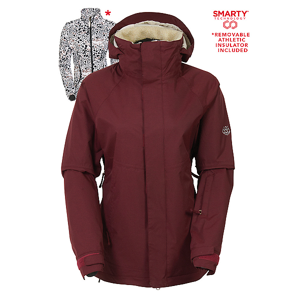 686 Authentic Smarty Catwalk Womens Insulated Snowboard Jacket, , 600