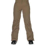 686 Authentic Patron Insulated Womens Snowboard Pants, Tobacco Herringbone, medium