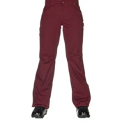 686 Authentic Patron Insulated Womens Snowboard Pants, Wine Pincord, medium