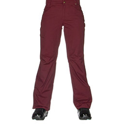 686 Authentic Patron Insulated Womens Snowboard Pants, Wine Pincord, 256