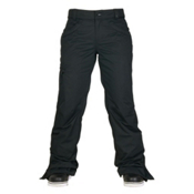686 Authentic Patron Insulated Womens Snowboard Pants, Black Herringbone, medium