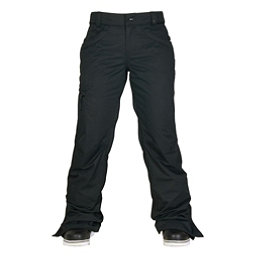 686 Authentic Patron Insulated Womens Snowboard Pants, Black Herringbone, 256