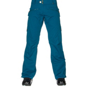 686 Authentic Mistress Womens Snowboard Pants, Lagoon Diamond Dobby, medium