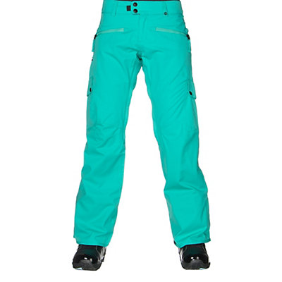 686 Authentic Mistress Womens Snowboard Pants, Black Diamond Dobby, viewer