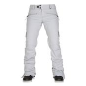 686 Authentic Mistress Womens Snowboard Pants, Light Grey Diamond Dobby, medium