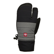 686 Cam Pierce Trigger Mittens, Black, medium