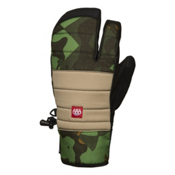 686 Cam Pierce Trigger Mittens, Green Cubist Camo, medium