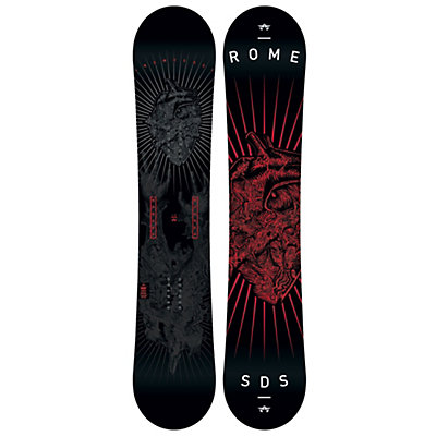 Rome Garage Rocker Snowboard, 148cm, viewer
