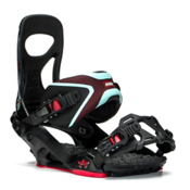 Rome Mob Boss Snowboard Bindings, Black-Mint, medium