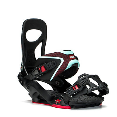 Rome Mob Boss Snowboard Bindings, Black-Mint, viewer