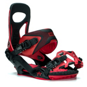 Rome Mob Boss Snowboard Bindings 2016, Red, medium