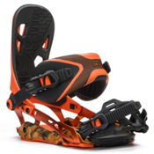 Rome 390 Boss Snowboard Bindings 2016, Orange, medium