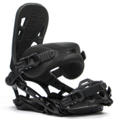 Rome 390 Boss Snowboard Bindings 2016, Black, medium