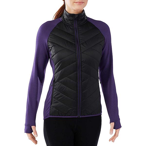 SmartWool Corbet 120 Womens Jacket, Black-Mountain Purple, 600