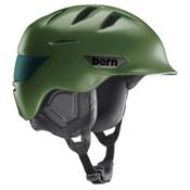 Bern Rollins Helmet 2016, Satin Olive Green, medium