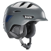 Bern Rollins Helmet 2016, Satin Grey, medium
