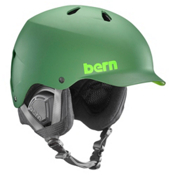 Bern Watts EPS Helmet 2016, Matte Leaf Green, medium