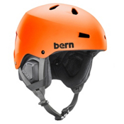 Bern Macon EPS Helmet, Matte Orange, medium