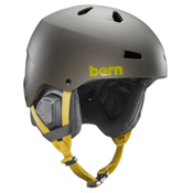 Bern Macon EPS Helmet 2016, Matte Charcoal Grey, medium