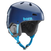 Bern Macon EPS Helmet, Satin Navy Blue, medium