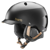Bern Lenox EPS Womens Helmet 2016, Satin Black, medium