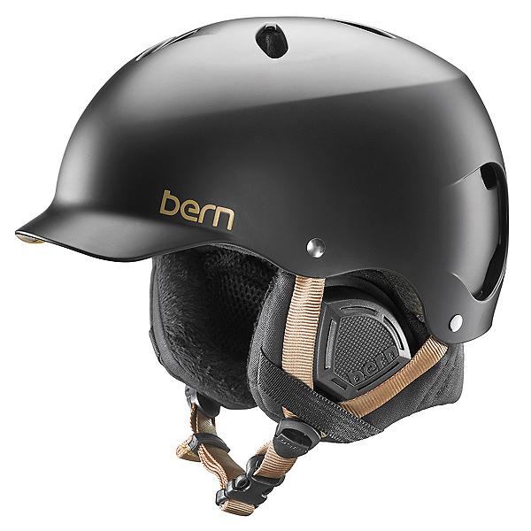 Bern Lenox EPS Womens Helmet, Satin Black, 600