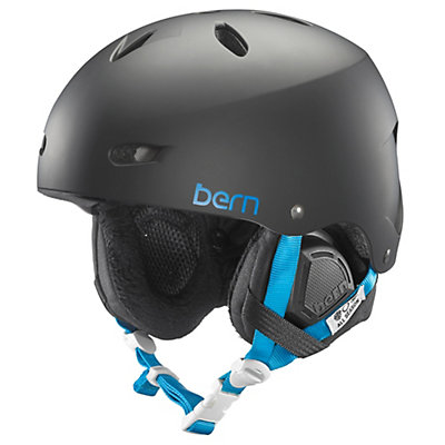 Bern Brighton EPS Womens Helmet, Satin Black, viewer
