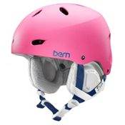 Bern Brighton EPS Womens Helmet, Satin Bubblegum Pink, medium