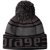 Orage Duofold Kids Hat, Black, medium