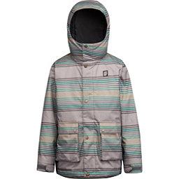 Orage Dennis Boys Ski Jacket, Bottle Green Stripe, 256