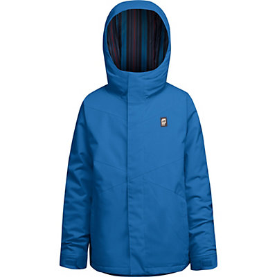 Orage Dub Boys Ski Jacket, Emperor Blue, viewer