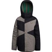 Orage Dub Boys Ski Jacket, Black, medium