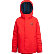Orage Dub Boys Ski Jacket, Fire Red, medium