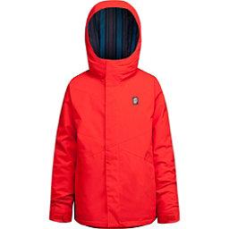 Orage Dub Boys Ski Jacket, Fire Red, 256