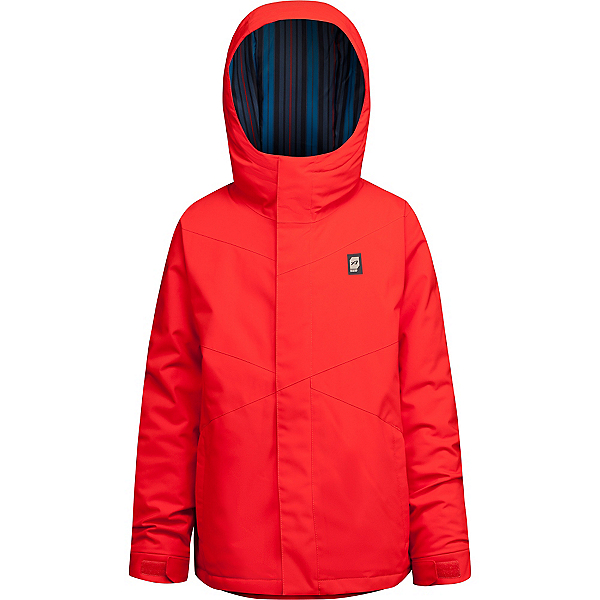 Orage Dub Boys Ski Jacket, Fire Red, 600