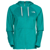 The North Face Castle Crag Womens Hoodie, Kokomo Green Stripe-Kokomo Gre, medium