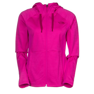The North Face Castle Crag Womens Hoodie, Garnet Purple Stripe-Garnet Pu, viewer