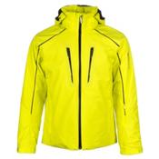 Descente Rogue Mens Insulated Ski Jacket, Sulfur Lime, medium