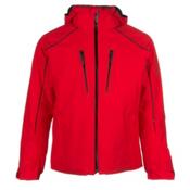 Descente Rogue Mens Insulated Ski Jacket, Electric Red, medium