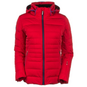 Descente Annie Womens Insulated Ski Jacket, Electric Red, medium
