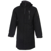 Descente Lombard Coat Mens Jacket, Black, medium