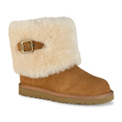 UGG Ellee Girls Boots, Chestnut, medium